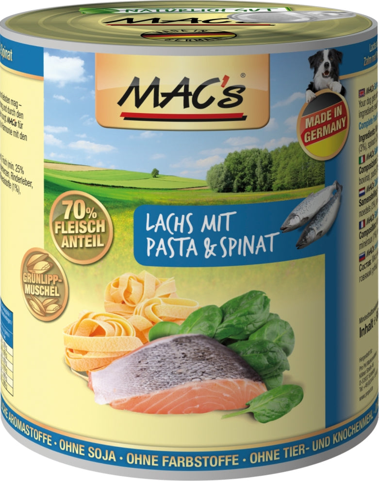 Macs Dog Lachs-Past-Spin.800gD