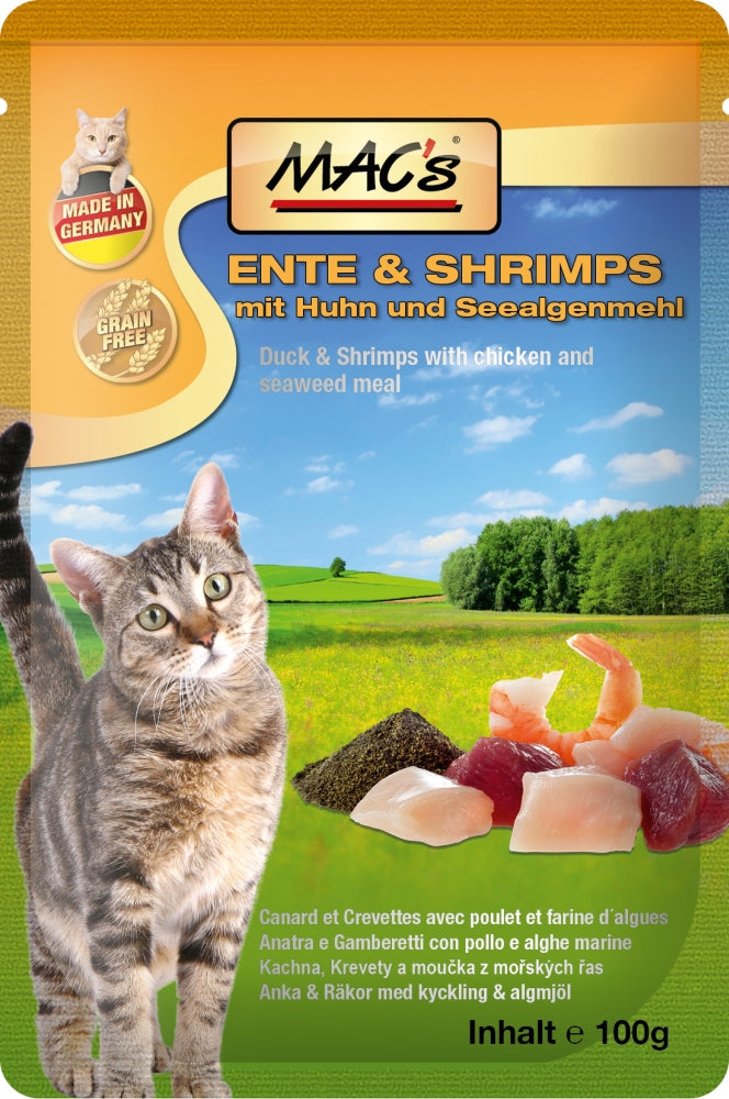 Macs Cat Ente-Shrimps    100gP