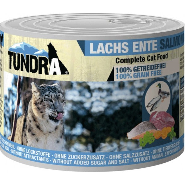 Tundra Cat Lachs+Ente    200gD