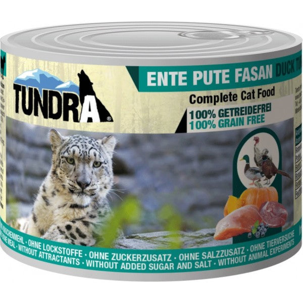 Tundra Cat Ente+Pute+Fas.200gD