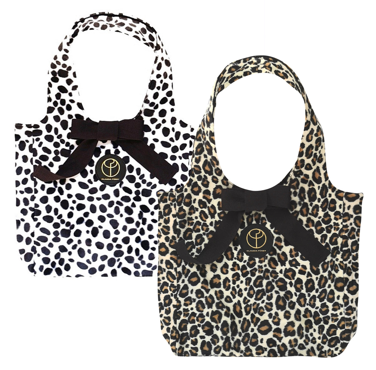 CLAUDIA FÜRST • animal print • faux fur • handbags