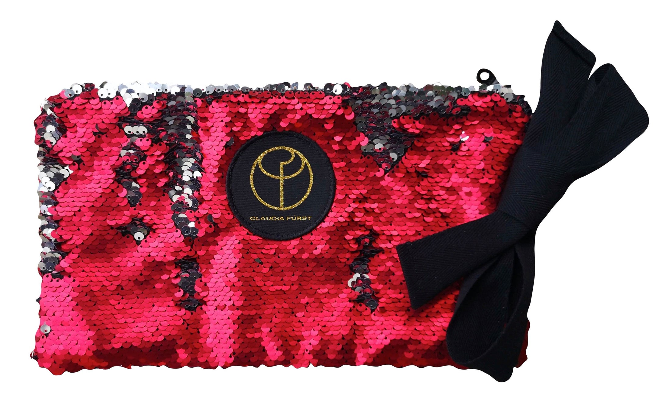 Claudia Fürst • Clutch Bag • Sequin Red