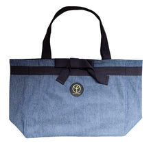 Load image into Gallery viewer, Claudia Fürst • Tote Bag • Denim • L