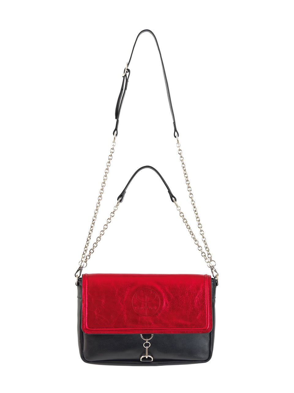 Claudia Fürst • Leather Clutch Bag • Red Red