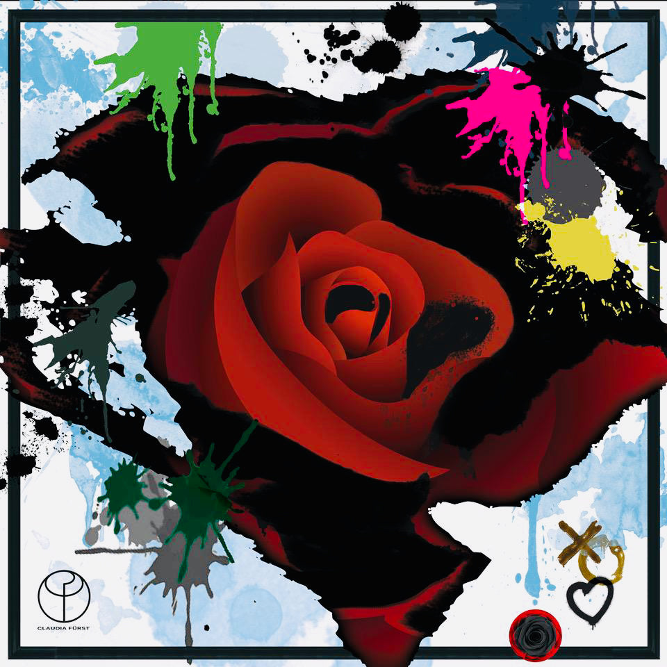 Graffiti Rose