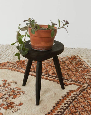Nice Vintage Things Seating Black Stool