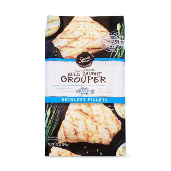 Grouper Fillet (6-8oz Frozen) per lb Product