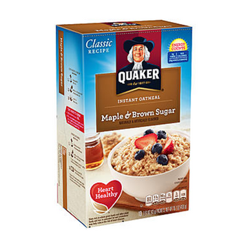 Oatmeal - Instant Maple Brown Sugar 15.1oz Product