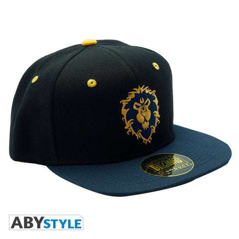 WORLD OF WARCRAFT - Snapback Cap - Blue