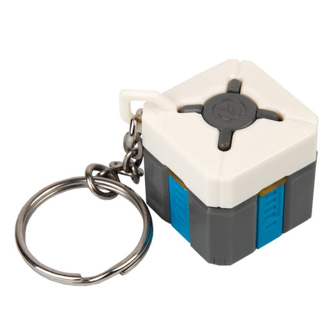Overwatch Lootbox Light-up Keychain