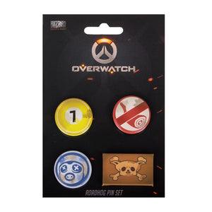 "Overwatch Pin Set ""Roadhog"""