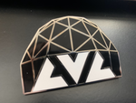 LVL Pin Logo/Dome