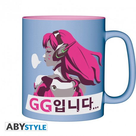OVERWATCH - Mug - 460 ml - D.VA