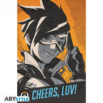OVERWATCH - Tracer Cheers Luv - Poster