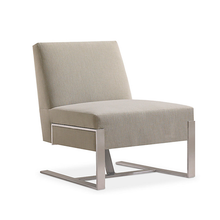 Load image into Gallery viewer, HNI HBF Fine Line Lounge Chair, Cream - Ex Showroom