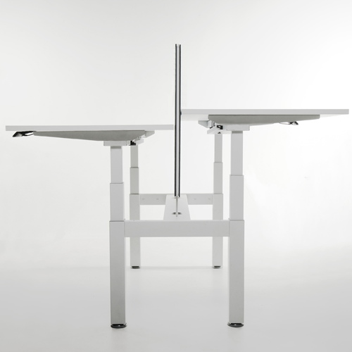 Koplus Mount Height Adjustable Double Bank of Desks