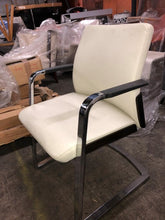 Load image into Gallery viewer, HNI Gunlocke Olla Cantilever Chair, Leather - Ex Showroom