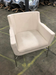 HNI HBF Ski Guest Chair, Cream - Ex Showroom