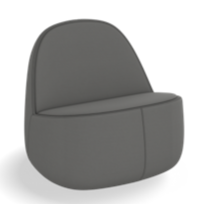 Load image into Gallery viewer, HNI Allsteel ROK Lounge Chair, Grey - Ex Showroom