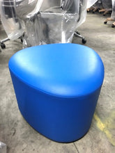 Load image into Gallery viewer, HNI HBF Triscape Pouf, Blue - Ex Showroom