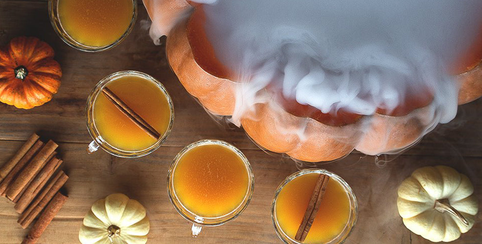 cocktail halloween citrouille