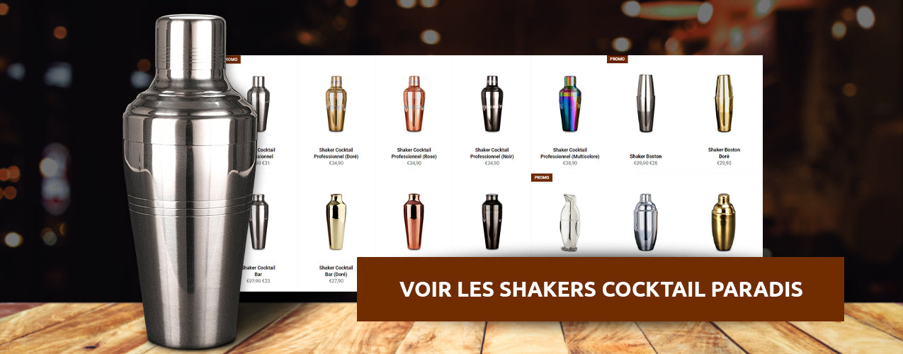 Shakers Cocktail haute qualité