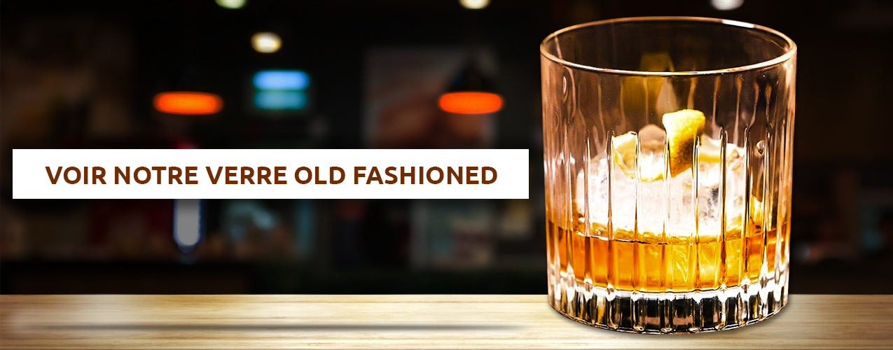 Verre pour old fashioned