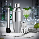set a cocktail shaker