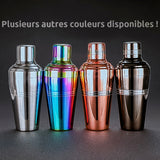 Shaker Cocktail<br> Professionnel (Noir)