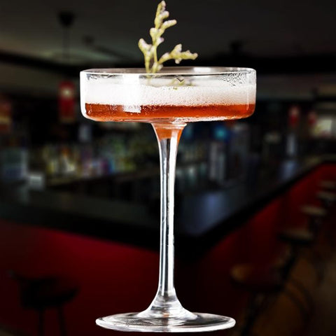 verre cocktail plat