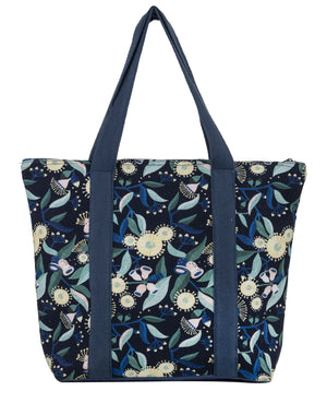 Gum Insulated Tote Bag Blue