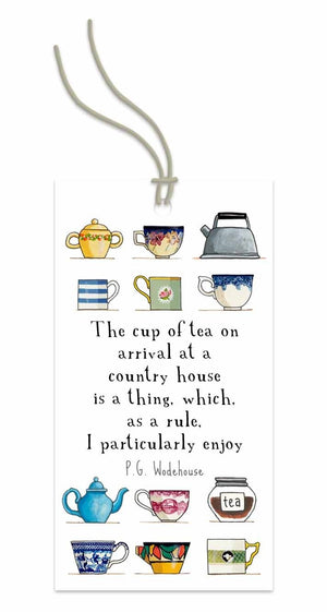 Tea at a Country House Swing Tag
