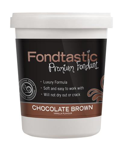 Fondant Chocolate Brown 2lb