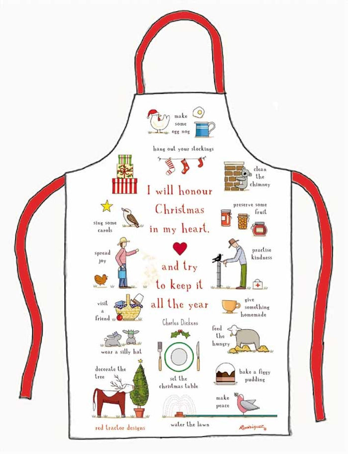 Xmas in my Heart Apron