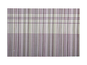 MW Placemat 45x30cm Woven Aubergine
