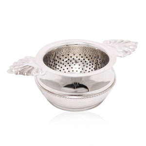 Tea Strainer Shell Nickle-Plat