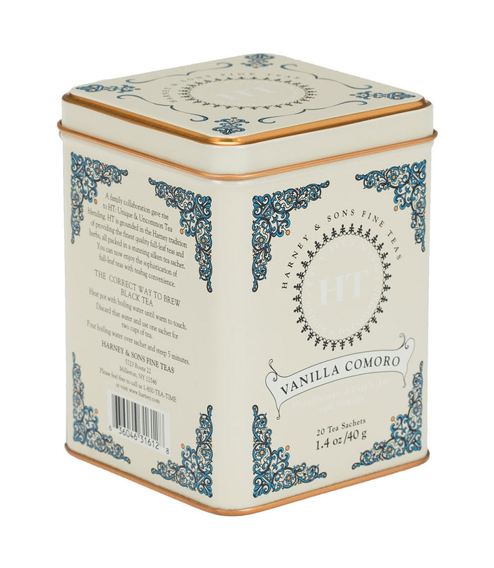 Vanilla Comoro 20ct Tin
