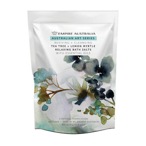 Empire Teatree & Lemon Myrtle Bath Salts 1kg