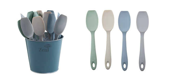 Classic­ Silicone ­Spatula ­Spoon 20cm Assorted Colours