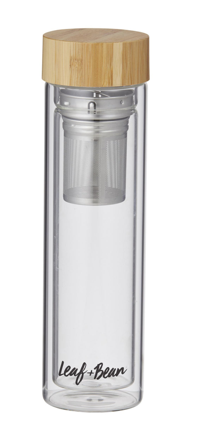 Florence Glass Tea Infuser Flask 500ml