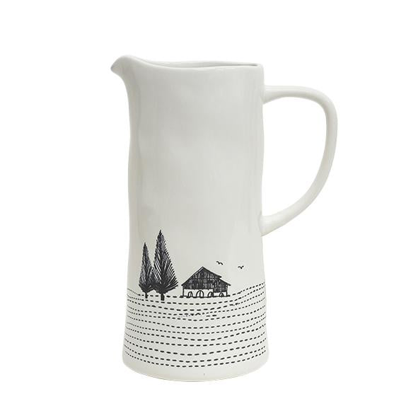 Engraved Large Jug 24cm