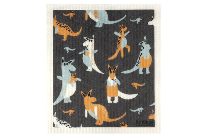Swedish Dish Cloth - kangaroo