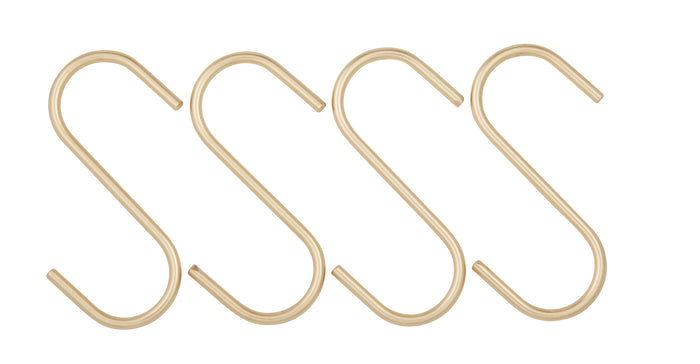 "Miller ""S"" Hook Large S/4 - Gold"