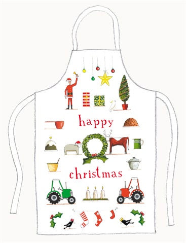 Happy Xmas Apron
