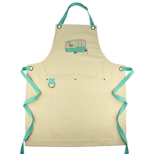 Embroidered Apron - Wings/Summer