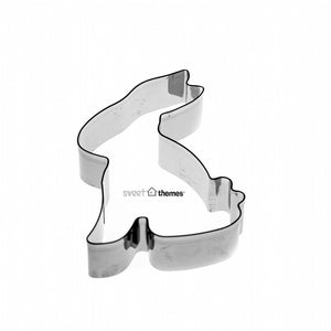Bunny Sitting Large SS Cookie Cutter