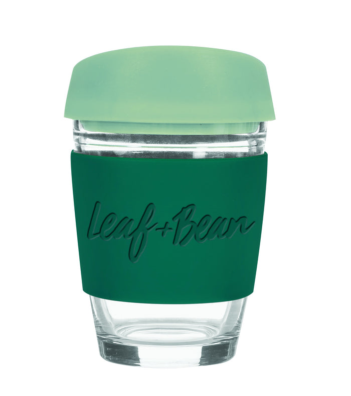 Sorrento Glass Travel Mug Green