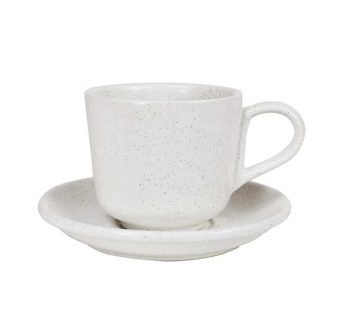 Large Cup & Saucer - Shell