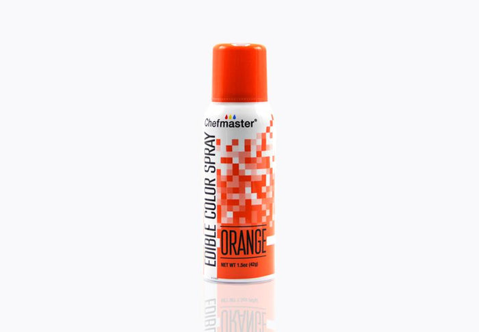 Edible Food Spray Orange 42g