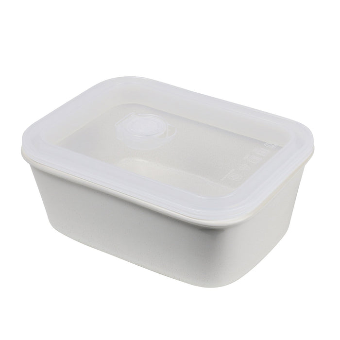 Travel Container Rectangle - Cream Feast